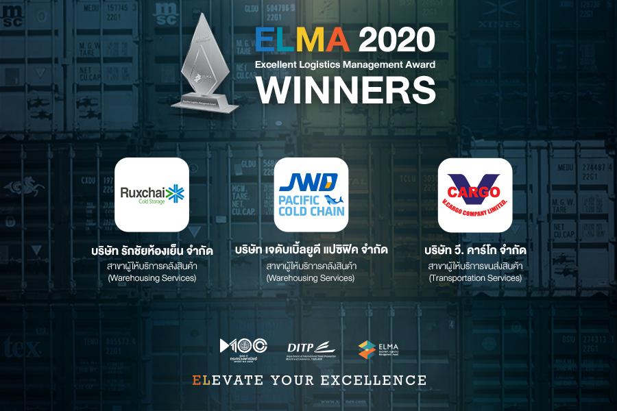 บริษัทที่สามารถคว้ารางวัล ELMA 2020