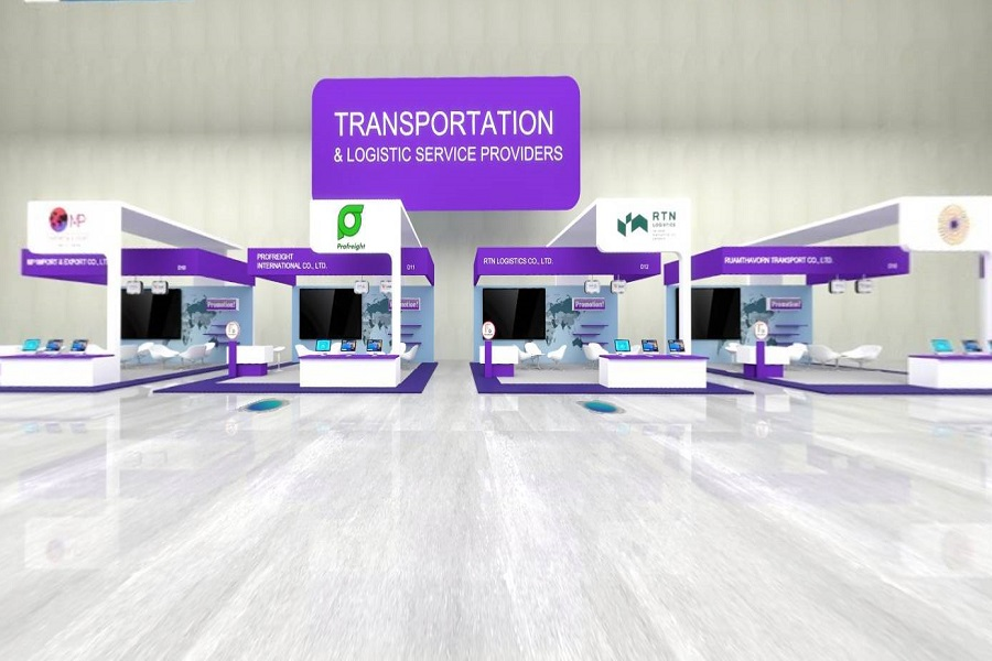 The Ministry of Commerce Contributed Revenues for the Thai's Logistics Industry. Boasting the Beyond Expected Success of the TILOG Virtual Exhibition 2021